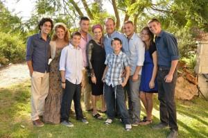 family photo Itai's bm